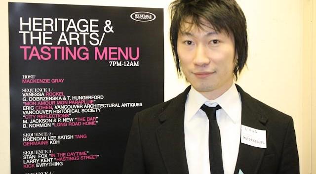 Heritage Vancouver co-organizer, Linus Lam