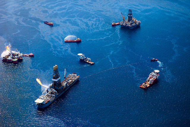Photo of the BP oilspill by Kris Krug from his TEDx Oil Spill Expedition. Some rights reserved by kk+ ( staticphotography.com )