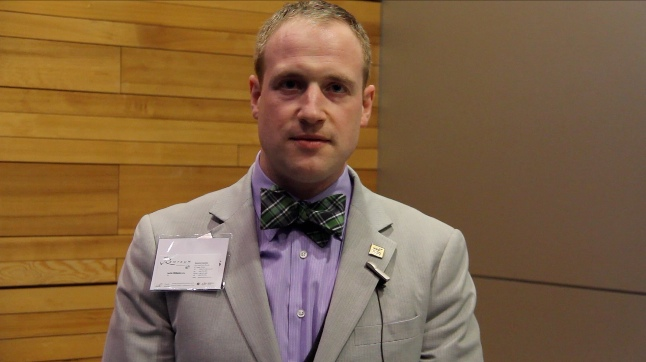 Justin Williams-CEO of Remtech systems at BCBusiness Innovators of the year 2013
