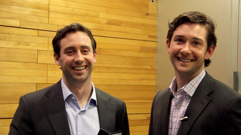 andrew and justin mcaleenen- EightSix network at bcbusiness2013
